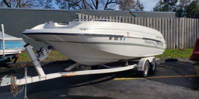 1999 Bayliner 21 Rendezvous Deck Boat