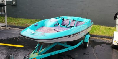 1993 Bayliner 14′ Jazz Jet Boat