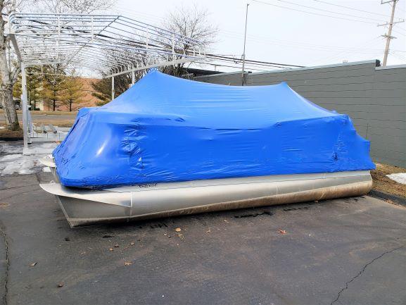 2016 Quest 820 RLS Pontoon Boat