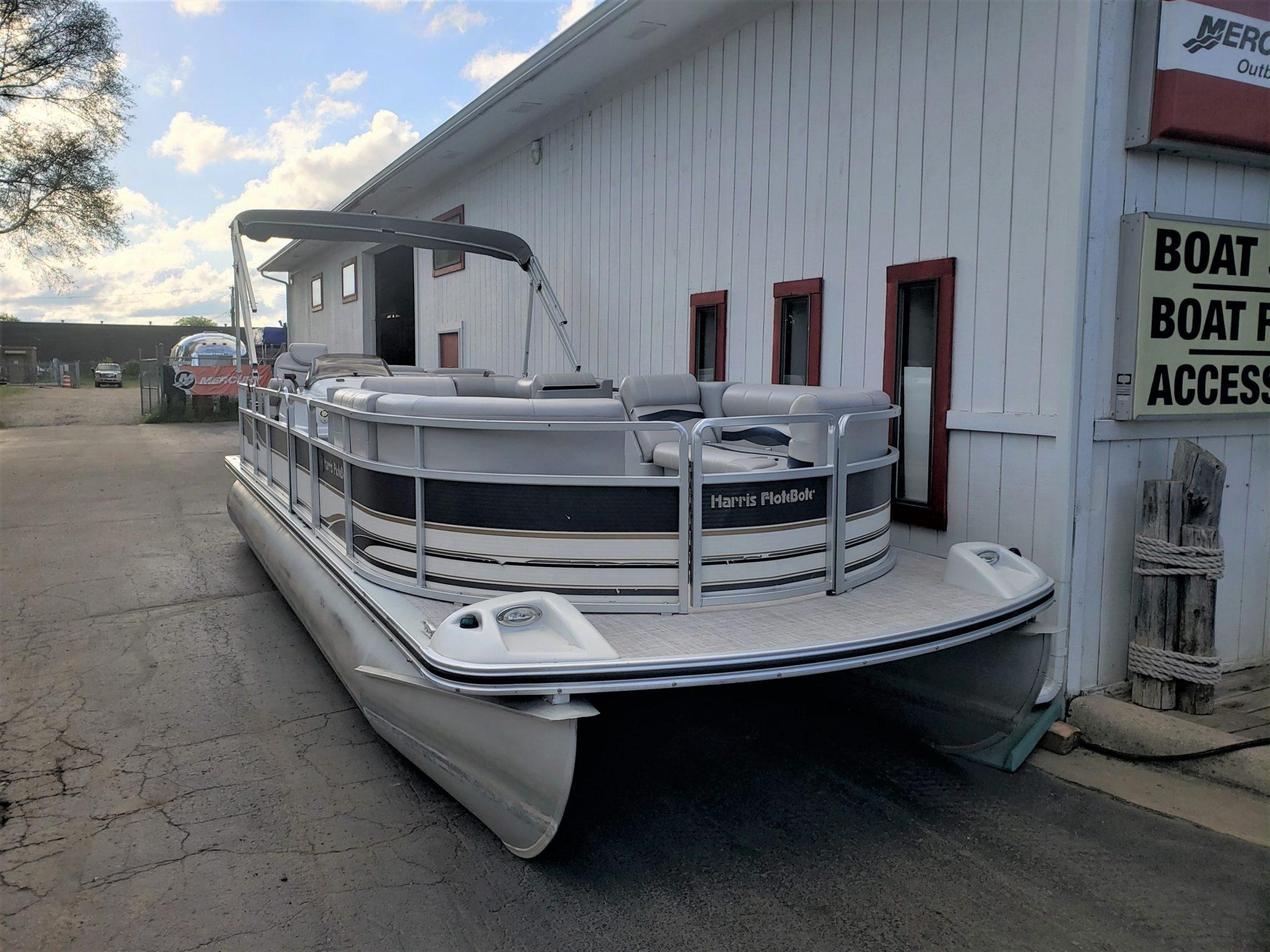 2001 Harris Euro Classic 240 Pontoon Boat